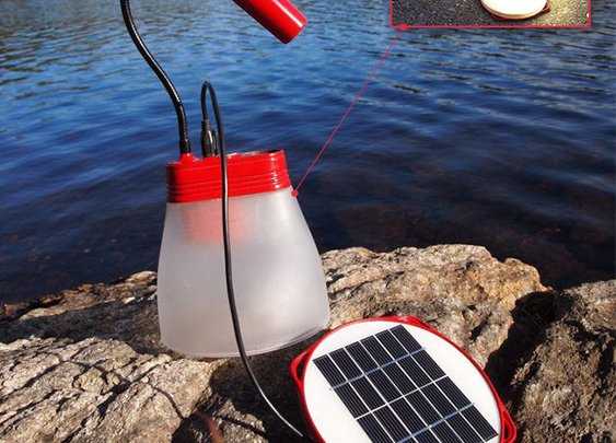 SunBell Solar Lamp & Charger