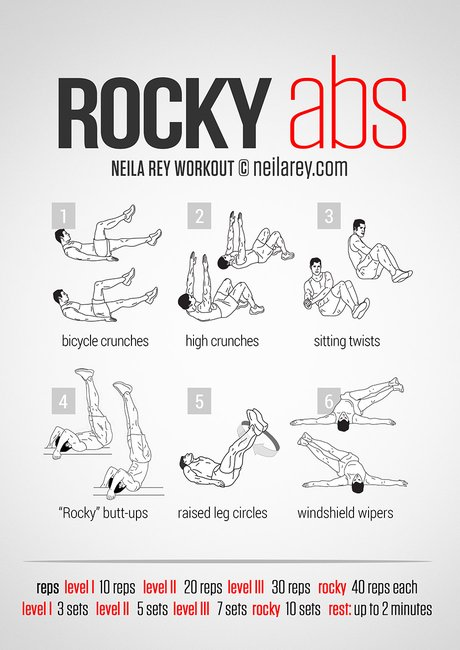 Rocky Abs Workout