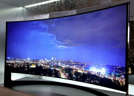 Samsung U9B Curved TV