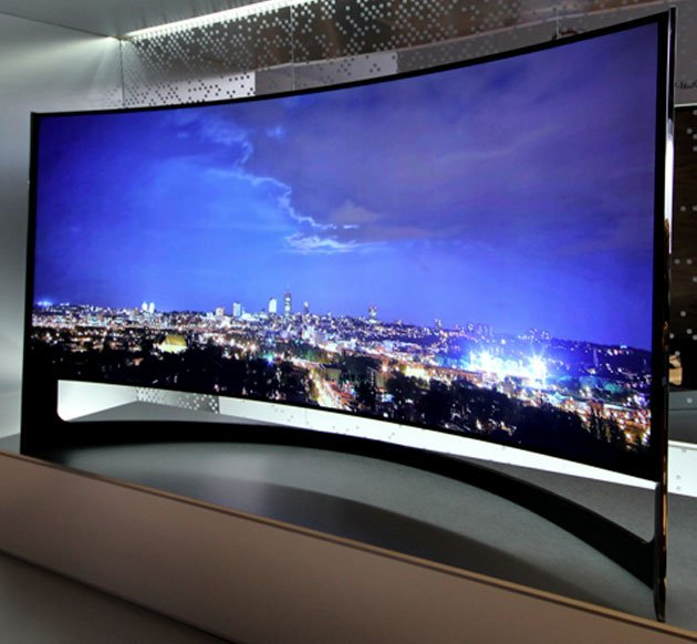 Samsung U9B Curved TV