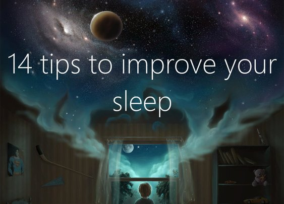 14 tips to improve your sleep - One Minute List