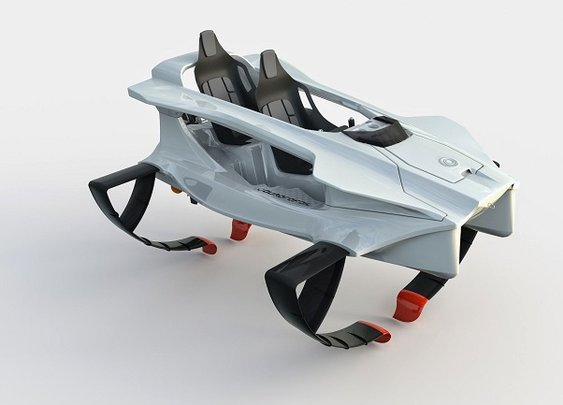 Quadrofoil- the Eco-Friendly Watercraft - Men's Gear