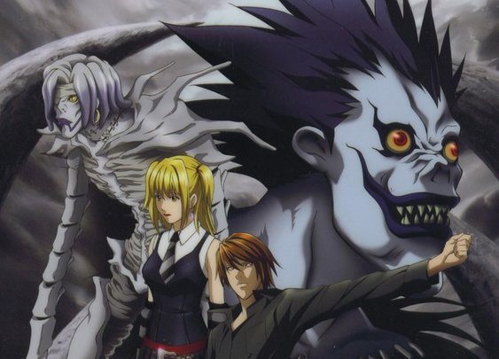 Death Note - the different anime