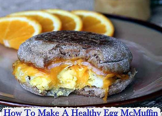 How To Make A Healthy Egg McMuffin - LivingGreenAndFrugally.com