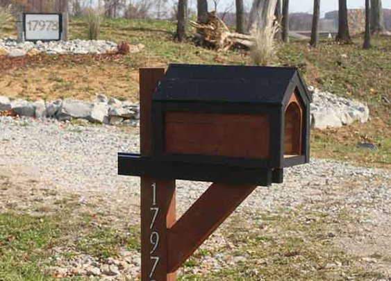 How to Make Your Own Cool Mailbox For Under $15 - LivingGreenAndFrugally.com