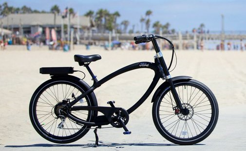 Ford goes zero-emissions with a Pedego electric bike