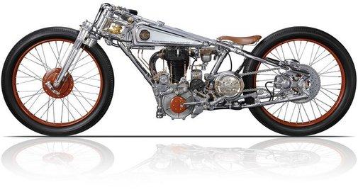 The Motorbike art of Chicara Nagata