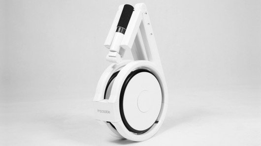 Impossible electric bike folds up to fit in a backpack
