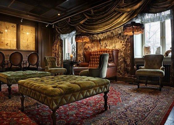 Luxurious artistic hotel – Stora Hotellet