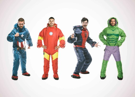 Selkbag's Marvel Collecion Of Wearable Sleeping Bags - Supercompressor.com