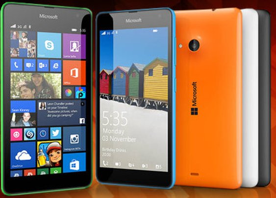 Microsoft Lumia 535 attacking Android - That Crazy Earth