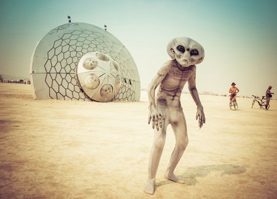 The Burning Man – the home of artistic freedom