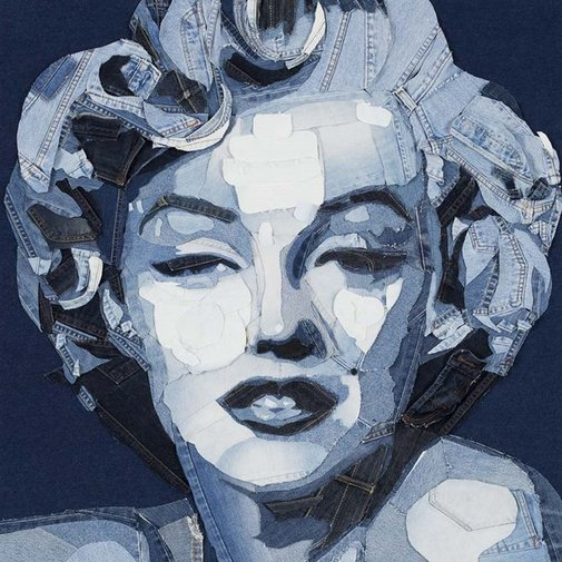 Denim Art – a new art from the old jeans