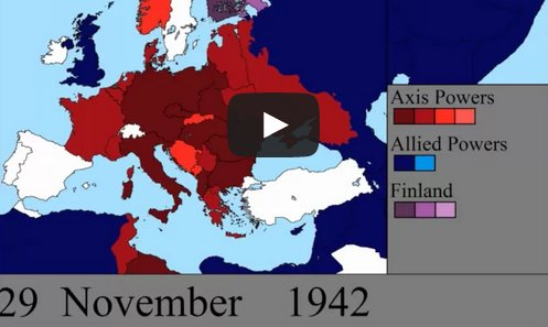 WWII in Europe in 7 Fascinating Minutes - Phactual