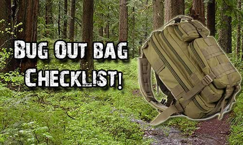 Bug out Bag Checklist, SHTF Preparedness, Survival Prepping