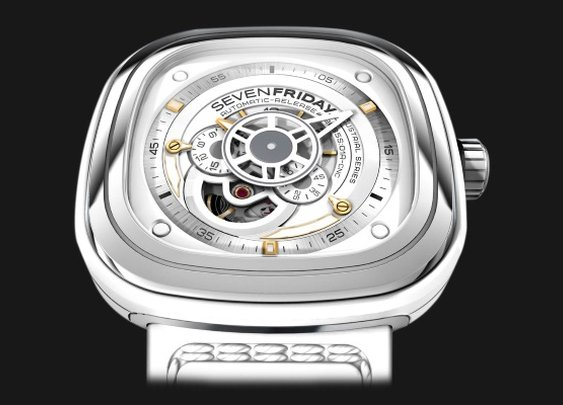 SEVENFRIDAY P1-2, a Watch with Industrial Essence | Baxtton