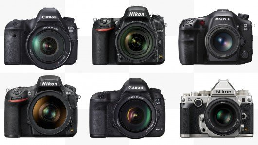 2014 Full Frame DSLR Comparison Guide
