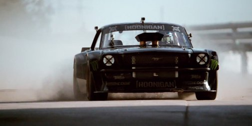 Video: Ken Block Shreds LA in a Ludicrous 845-HP Mustang | WIRED