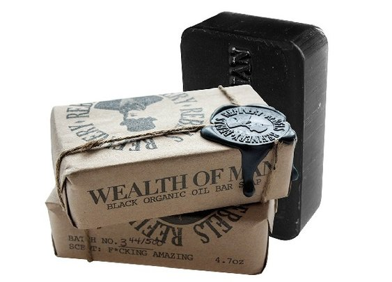 Wealth of Man Organic Bar Soap  - Men's Gear