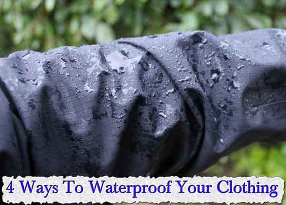 4 Ways To Waterproof Your Clothing - LivingGreenAndFrugally.com