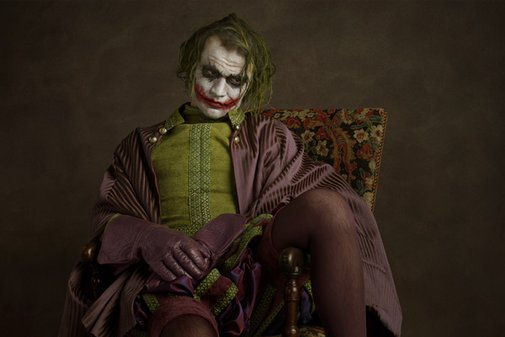 Hollywood heroes and villains as 17th century aristocrats