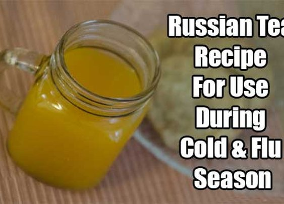 Russian Tea Recipe For Use During Cold & Flu Season - SHTF & Prepping Central