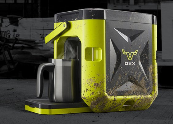 CoffeeBoxx - The Toughest Coffee Maker - Spending it All