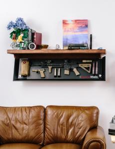 TacticalWalls Hidden Gun Storage Shelf | StashVault