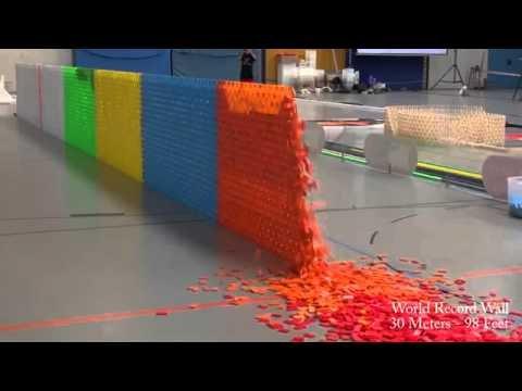 128,000 Dominoes - YouTube