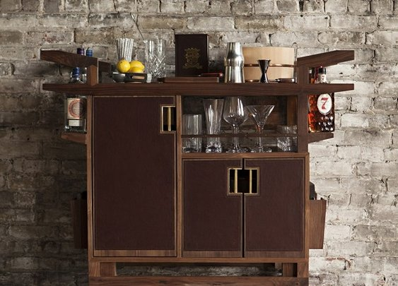The Sidecar Bar Cart by Moore & Giles  - Men's Gear
