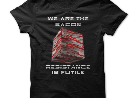 Bacon  Cube - Resistance is Futile