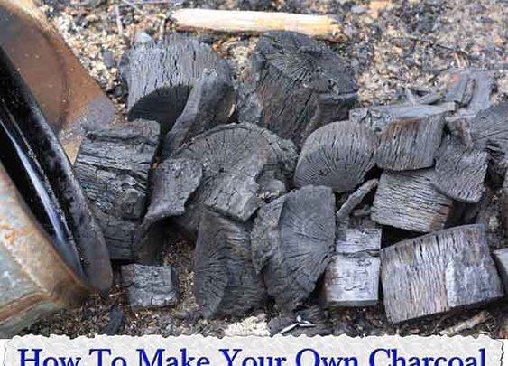 How To Make Your Own Charcoal (a.k.a. lump charcoal) - LivingGreenAndFrugally.com