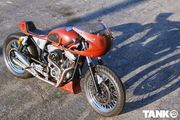 The Mako Harley Davidson Sporster | Return of the Cafe Racers