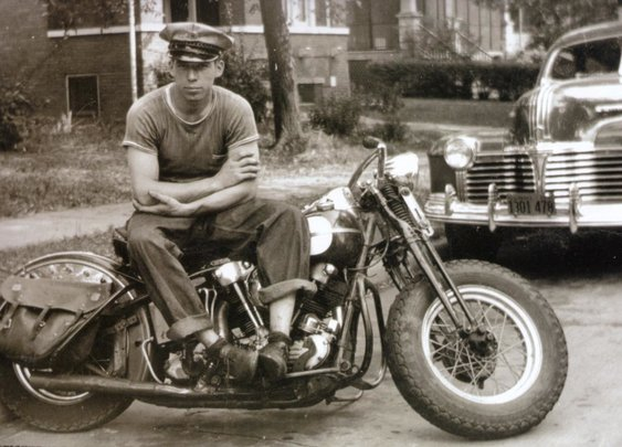 "George Smith, Sr.: Founder of S&S Cycle| Tale of the H-D Knuckle Dragster ""Tramp"" 