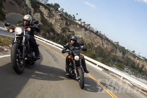 Harley-Davidson Street 750 vs. Yamaha Star Bolt Comparison | CycleWorld.com