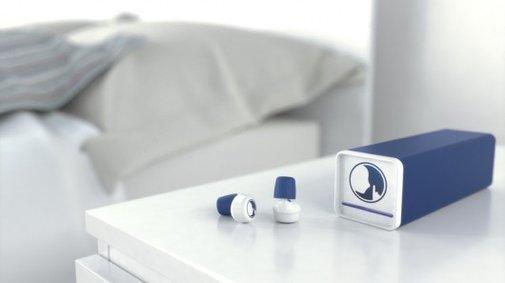 Hush earplugs send you to sleep with soothing sounds