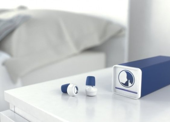 Hush earplugs send you to sleep with soothing sounds