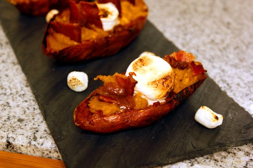 Sweet Potato Skins - rotio/food