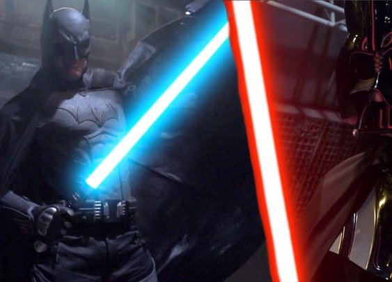 BATMAN vs DARTH VADER - Super Power Beat Down - YouTube