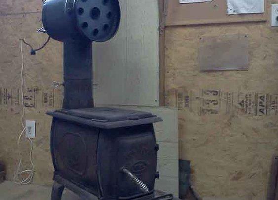 DIY Build, Wood Stove Heat Exchanger - LivingGreenAndFrugally.com