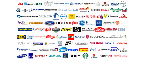 16 companies and their revenue in real time - One Minute List
