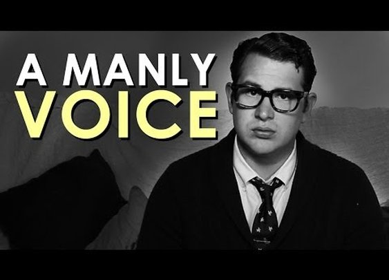 How to Develop A Manly Voice | Art of Manliness - YouTube