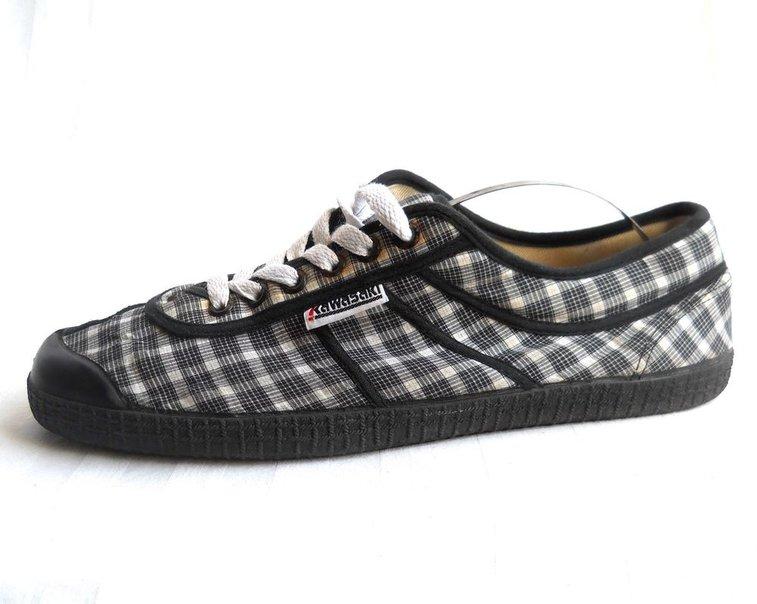 Shoes Trainer 10 Plaid US Kawasaki 43 Canvas Check Sneaker Men EU zYFwqxt5