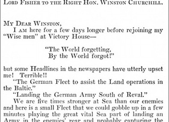 """Winston Churchill Received the First Ever Letter Containing """"O.M.G."""""""
