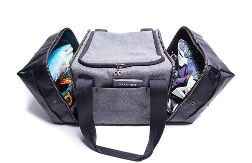 Shrine Sneaker Duffel Bag