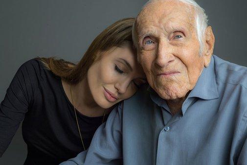 Angelina Jolie On Louie Zamperini Watching Unbroken   Vanity Fair