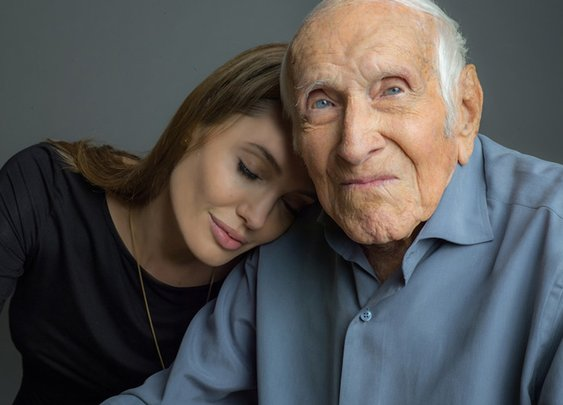 Angelina Jolie On Louie Zamperini Watching Unbroken | Vanity Fair
