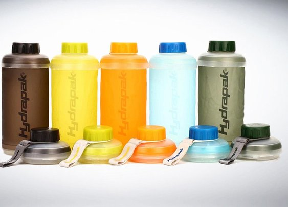 Hydrapak Stash Collapsible Water Bottle - Spending It All