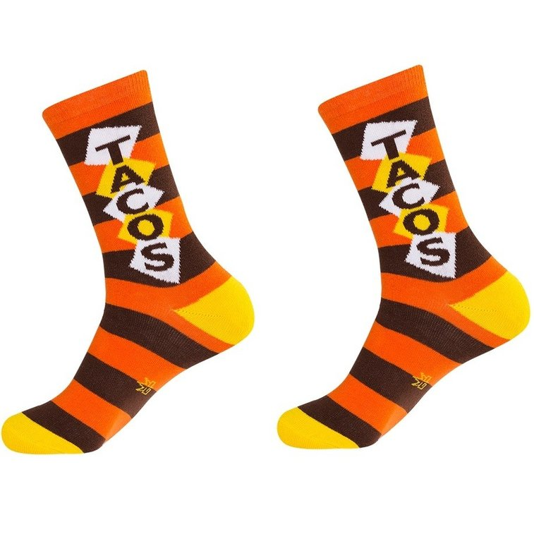 Tacos Unisex Crew Socks - Whimsical & Unique Gift Ideas for the Coolest Gift Givers