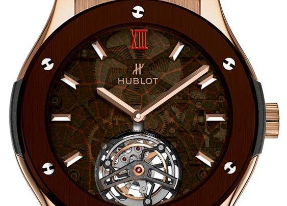 """Hublot and Arturo Fuente unveil in Dubai the new Classic Fusion """"ForbiddenX"""""""